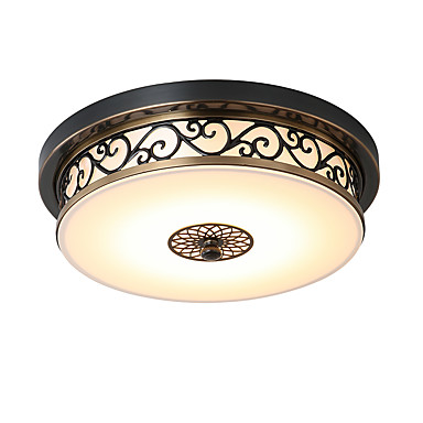 LightMyself™ Montage de Flujo Luz Downlight Bronce Metal LED 110-120V / 220-240V Bombilla incluida / LED Integrado