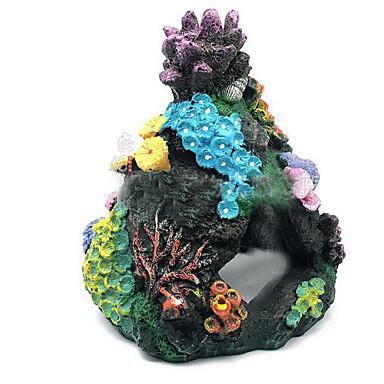 Akvarium Dekorasjon Pyntegjenstander Giftfri og smakløs Harpiks