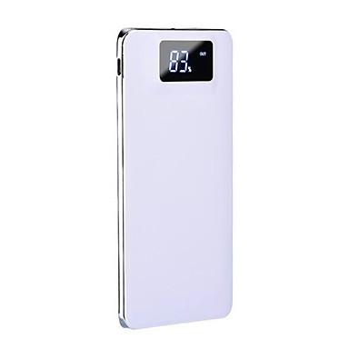 Til Power Bank Eksternt batteri 5 V Til 1 A / 2 A / # Til Batterilader Lommelykt / med kabel / Flere utganger LCD / Støtsikker