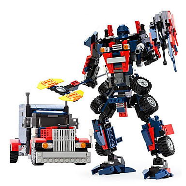 GUDI Robot / Lekebiler / Byggeklosser 377pcs Kriger / Maskin / Robot transform / Kreativ / Kul Klassisk & Tidløs / Elegant & Luksuriøs /