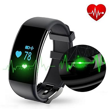 D21 Okos karkötő iOS Android iPhoneVízálló Hosszú készenléti idő Lépésszámlálók Egészségügy Sportok Ébresztőóra Távolságmérés Több
