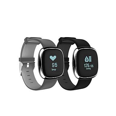 Relógio inteligente P2 for iOS / Android Tela de toque / Monitor de Batimento Cardíaco / Impermeável Monitor de Atividade / Monitor de
