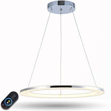أضواء معلقة ضوء محيط - تخفيت LED ديمابل مع جهاز التحكم عن بعد, التقليدية / الكلاسيكية الحديثة / المعاصرة, 110-120V 220-240V LED متكاملة