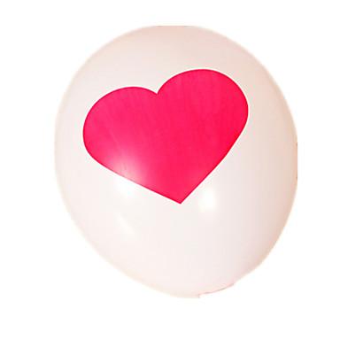 voordelige Ballonnen-Ballonnen Speeltjes Cirkelvormig Dik Opblaasbaar Feest 10 Stuks
