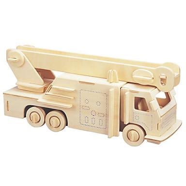 voordelige 3D-puzzels-3D-puzzels / Legpuzzel Brandweerwagens DHZ 1pcs Brandweerwagen Kinderen Unisex Geschenk