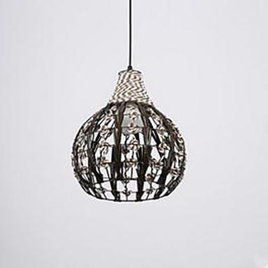 R tro rustique led lampe suspendue lumi re d ambiance pour chambre coucher salle manger - Lampe pour chambre a coucher ...