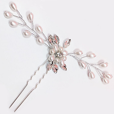 abordables Coiffes-Perle / Cristal Peignes / Bâton de cheveux avec 1 Mariage / Occasion spéciale Casque