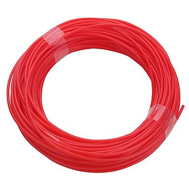 willekeurige kleuren-3d-printerpen, 10 meter verbruiksartikelen 1,75 mm (rood, geel, wit, paars, roze, zwart)