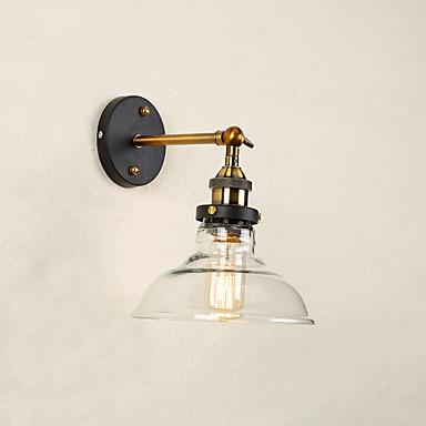 Rústico / Campestre / Moderno / Contemporâneo / Tradicional / Clássico Luminárias de parede Vidro Luz de parede 110-120V / 220-240V 60W