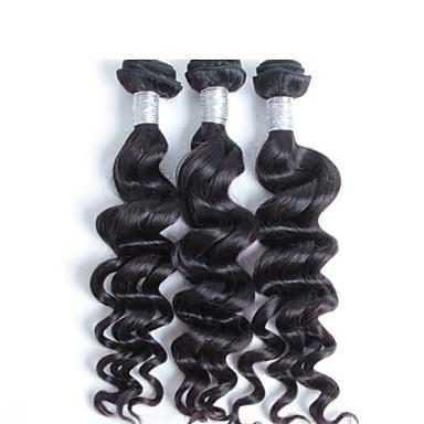 περουβιανή τρίχα τρίχα παρθένο φυσικό κύμα 3 τεμ / lot δωρεάν αποστολή, Φτηνές χονδρικής παρθένα περουβιανή επέκταση μαλλιά