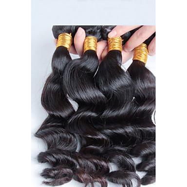 pas de rejet et aucun embrouillement 3 pièces / lot armure brésilienne de cheveux bouclés, pas cher cheveux brésiliens tissant