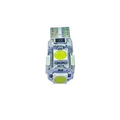 10pçs T10 Carro Lâmpadas 1.8W SMD 5050 58lm Lâmpada de Seta For Universal