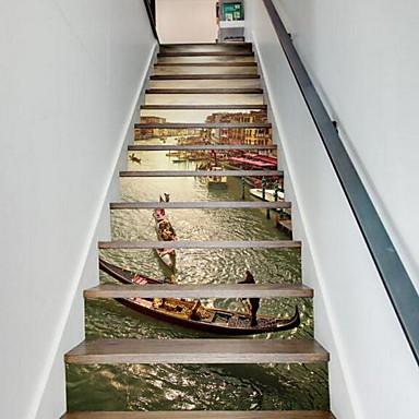 풍경 벽 스티커 3D 월 스티커 데코레이티브 월 스티커,비닐 자료 홈 장식 벽 데칼