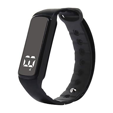 Pulseira inteligente iOS / Android Impermeável / Calorias Queimadas / Saúde Sensor de Gravidade / Sensor de Proximidade / Sensor de Dedo Silicone Vermelho / Verde / Azul / Bluetooth 4.0 / OLED