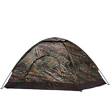 2 사람 텐트 싱글 캠핑 텐트 원 룸 휴대용 용 캠핑 여행 CM