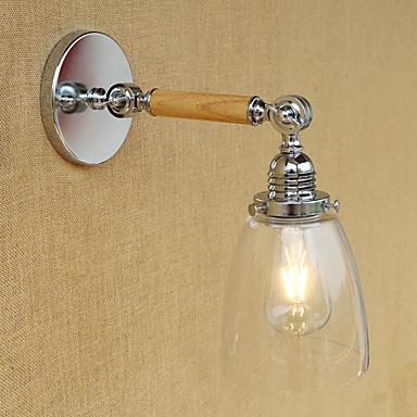 Regional / Retro / Moderno / Contemporâneo Swing Arm Lights Metal Luz de parede 220V / 110V 60W
