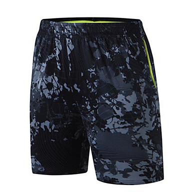 Unisexo Shorts de Corrida Exercício e Atividade Física Corrida Poliéster Camuflado M L XL XXL XXXL