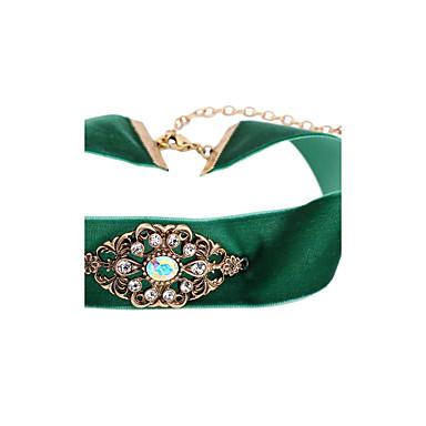 للمرأة قلادات ضيقة - مخصص, اسلوب لطيف فاتح أخضر قلادة من أجل تهاني, تخرج, هدية