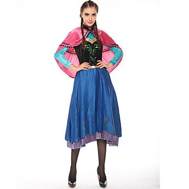 Prinses Sprookje Elsa Cosplay Kostuums Feestkostuum Dames Halloween Carnaval Festival / Feestdagen Halloweenkostuums Effen