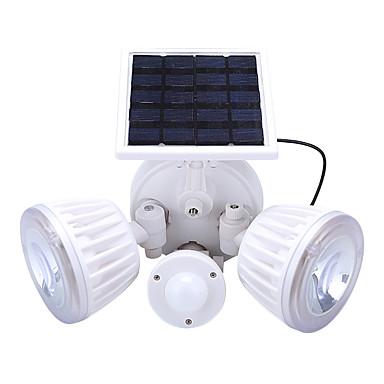 4.5W Luzes Solares LED Recarregável / Instalação Fácil / Impermeável Branco Natural / Vermelho <5V Iluminação Externa