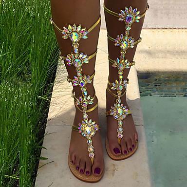 Sandales Eté Printemps Talon Chaussures Femme Polyuréthane Nouveauté nPXw0Ok8