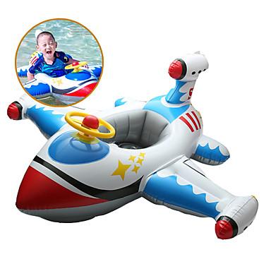 Aeronave Boias de piscina infláveis PVC Infantil