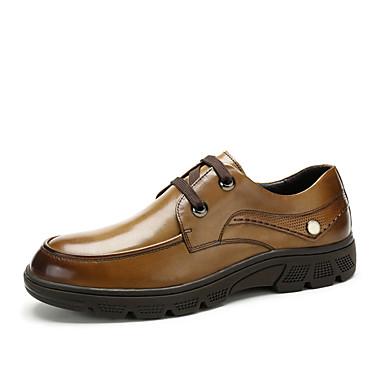 Uniszex Formális cipők Nappa Leather Ősz / Tél Félcipők Fekete / Barna / Party és Estélyi