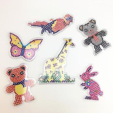 Puzzle Vzdělávací hračka Kreslení Rabbit Ptáček Medvěd Jelen Medvídek Parrot Motýl Zvířata Udělej si sám Dětské Unisex