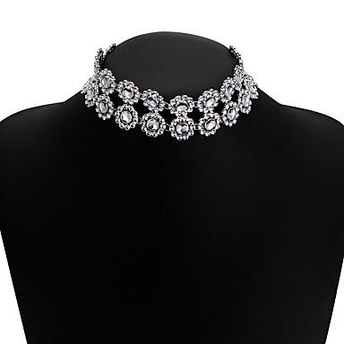 Mulheres Estrela Diamante sintético Gargantilhas - Original Bikini Estrela Colar Para Casamento Festa Diário Casual