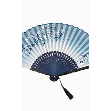 abordables Eventail & Ombrelle-Occasion spéciale Ventilateurs et parasols Décorations de Mariage Thème plage / Thème jardin / Thème asiatique / Thème floral / Thème