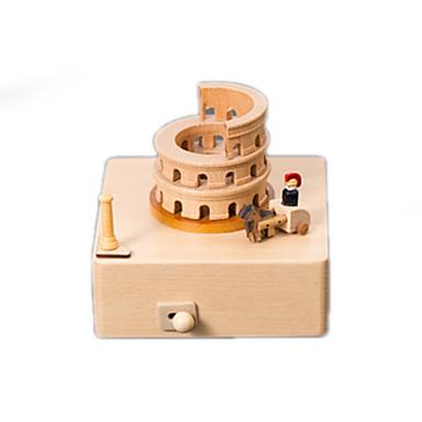 Caixa de música Construções Famosas Clássico Crianças Adulto Infantil Dom Unisexo