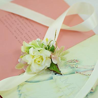 زهور الزفاف باقة ورد في رسغ زفاف حفل / مساء حفلة خطوبة حفل/كوكتيل تول ستان 1.18