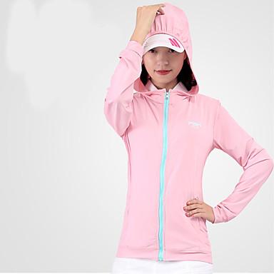 Mulheres Manga Longa Golfe Blusas Respirável Redutor de Suor Confortável Golfe Esportes Relaxantes