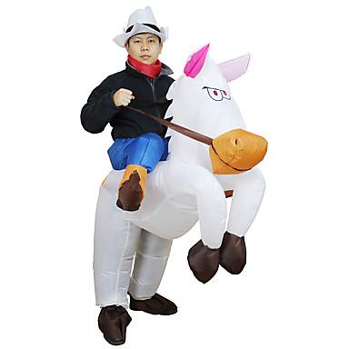 حصان أزياء Cosplay / أدوات هالوين / أزياء قابلة للنفخ Film Cosplay / قمصان الرضعثوب الراقص / منفاخ الهواء كريسماس عيد الميلاد / Halloween / مهرجان البوليستر / ضد الماء