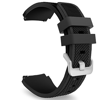 Watch Band for Gear S3 Frontier / Gear S3 Classic Samsung Galaxy Sport Band Fluoroelastomer Wrist Strap