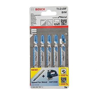 Bosch t121bf pilový kotouč 5 kusů t křivka - kovová zakřivená pila / taška