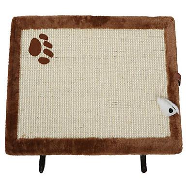 Hračka pro kočky Hračky pro zvířata Interaktivní Škrabadlo Sisal Plyš
