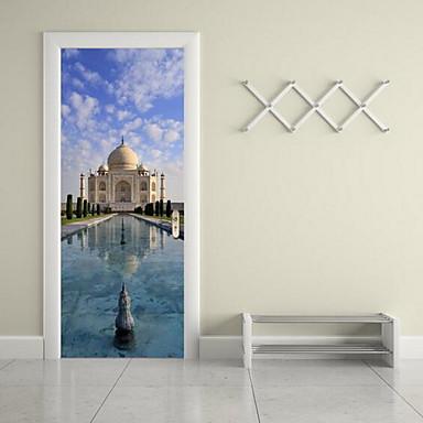 건축 벽 스티커 3D 월 스티커 데코레이티브 월 스티커,비닐 자료 홈 장식 벽 데칼