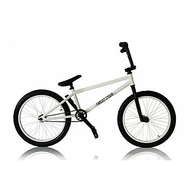BMX Bicicleta Ciclismo Others 20 polegadas Comum Fixado Manocoque Quadro de Aço Sem Amortecedor Anti-Escorregar PVC Aço