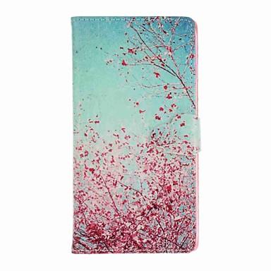Hülle Für iPhone 7 / iPhone 7 plus / iPhone 6s Plus Geldbeutel / Kreditkartenfächer / mit Halterung Ganzkörper-Gehäuse Baum Hart PU-Leder für iPhone 7 Plus / iPhone 7 / iPhone 6s Plus