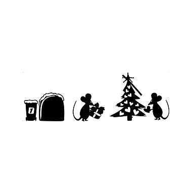 Autocolantes de Parede Decorativos - Autocolantes de Aviões para Parede Animais / Natal / Botânico Sala de Estar / Quarto / Banheiro