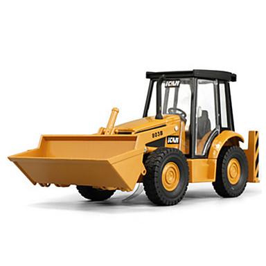 Veiculo de Construção Pás-Carregadeiras de Rodas Caminhões & Veículos de Construção Civil Carros de Brinquedo Carrinhos de Fricção 1:48