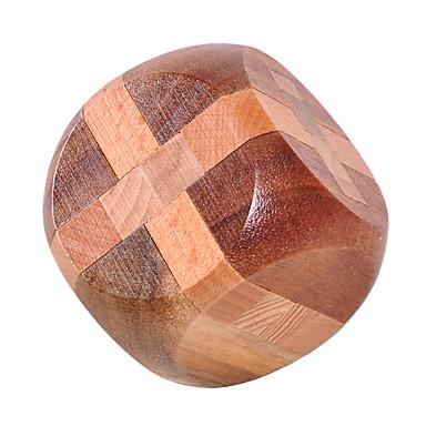 Quebra-Cabeças de Madeira Quebra-Cabeças Inteligentes Quebra-Cabeça Luban Esfera Teste de QI Madeira Unisexo Dom