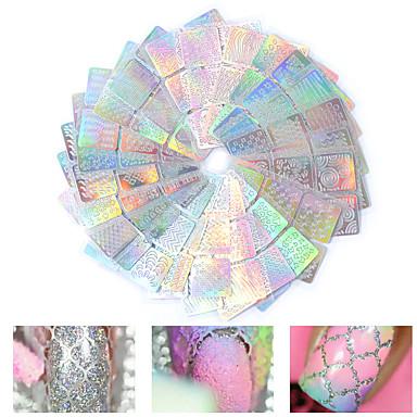 12pcs Etiquetas de unhas 3D Modelo de estampa de unhas Diário Fashion Alta qualidade