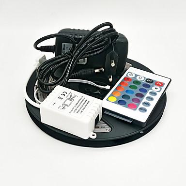 ZDM® Conjuntos de Luzes 150 LEDs RGB Controlo Remoto Cortável Regulável Impermeável Auto-Adesivo 100-240V