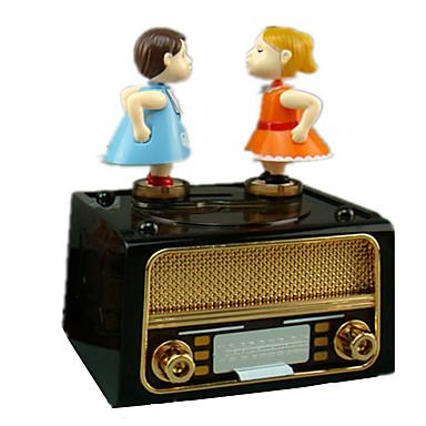 Caixa de música Clássico Rotativo Crianças Adulto Infantil Dom Unisexo