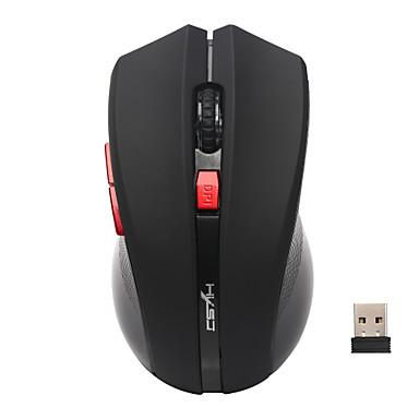 HXSJ 2.4G sem fio Mouse de Escritório Óptico 6 pcs chaves 4 níveis de DPI ajustáveis 1000/1200/1600/2400 dpi