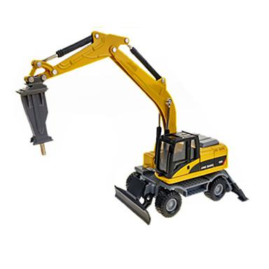 Triturador Caminhões & Veículos de Construção Civil Carros de Brinquedo 1:60 ABS Metal Borracha Unisexo Crianças Brinquedos Dom