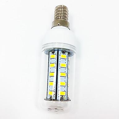 abordables Ampoules électriques-2.5 W Ampoules Maïs LED 260-300 lm E14 E27 T 36 Perles LED SMD 5730 Décorative Blanc Chaud Blanc 220 V 110 V / 1 pièce / RoHs