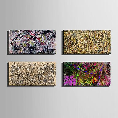 Abstrato Clássico Estilo Europeu, 1 Painel Tela de pintura Horizontal Estampado Decoração de Parede Decoração para casa
